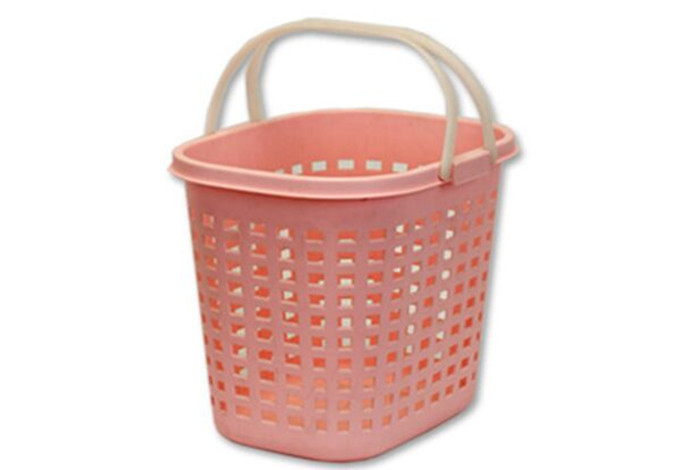 35 Litres Hand Shopping Basket Storage Plastic Oval Shape 450×355×375 mm
