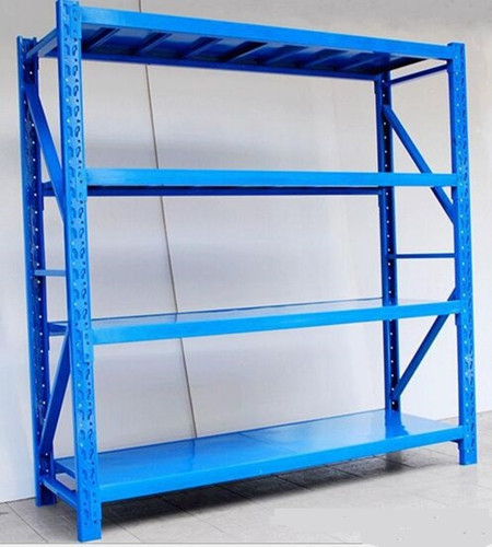 Blue Warehouse Storage Racks Commercial Steel Shelving 2000×600×2000 mm