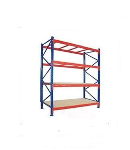 Multi layer Warehouse Storage Racks Assembled  Boltless Steel Shelving
