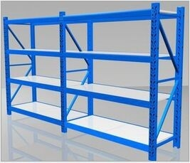 Cold Rolled Steel Heavy Duty Industrial Pallet Racking For Warehouse