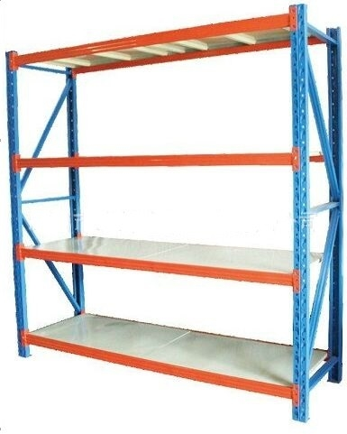 Collapsible Middle Weight Warehouse Shelves Racks Floor Standing