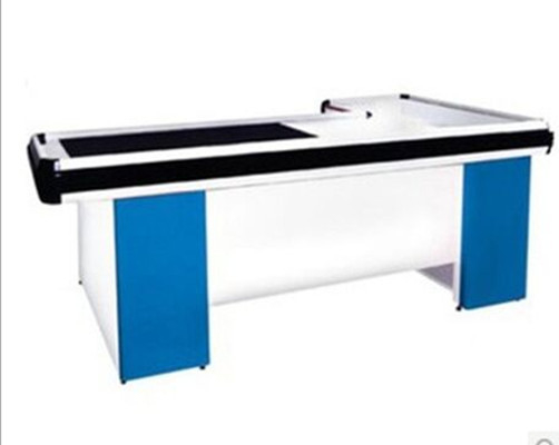 Automatic Supermarket Checkout Counter Customized Checkstand