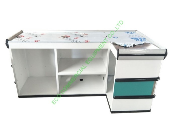 Elegant Custom Made Cash Register Checkout Counter Left Or Right Direction